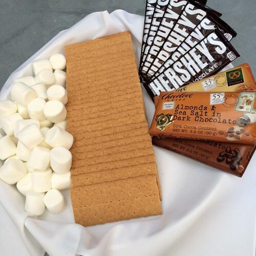smores, almond, and chocolate image