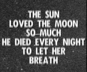 love, sun, and moon image