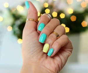 fashion, nails, and love image