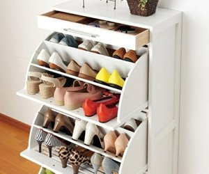 cabinet, shoe, and shoes image