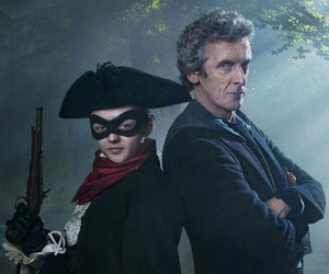 doctor who, peter capaldi, and maisie williams image