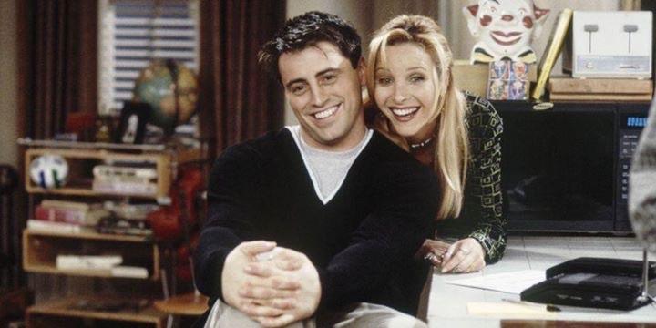 joey tribbiani, friends, and Lisa Kudrow image