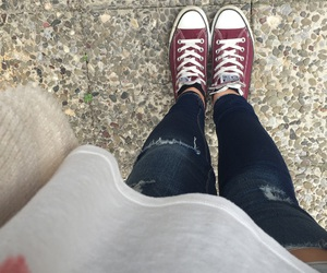 converse, fall, and hollister image