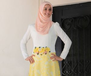 hijab, modest, and womens wear image