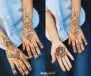 henna, oh, and tattoo image