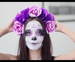 catrina, ♥, and máquillaje image
