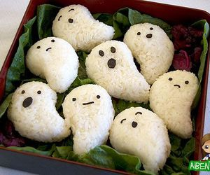 food, ghost, and Halloween image