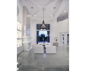 architecture, chandelier, and design image