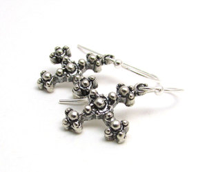 earrings, etsy, and jewelry image