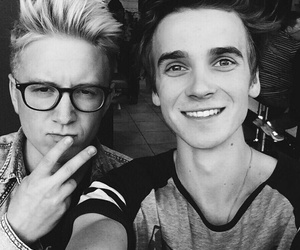 joe sugg, tyler oakley, and youtube image