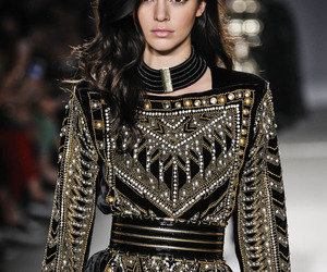 kendall jenner, model, and Balmain image
