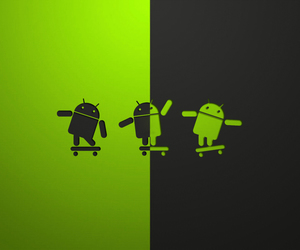 android, tech, and wallpaper image