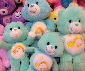 care bears, green, and mint image
