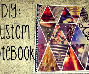 diy, notebook, and cute notebook image
