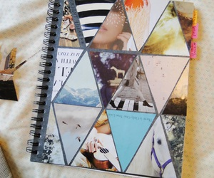 notebook and diy image