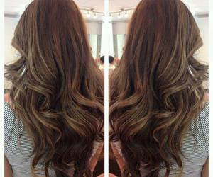 hair, straight, and curls image
