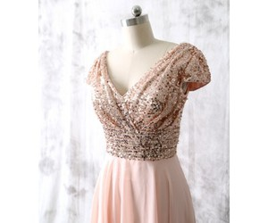 bridesmaid dress, sequins bridesmaid dress, and sequins occasion dress image