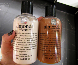 beauty, cream, and almond image