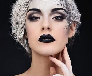 helloween, party make up, and helloween make up image