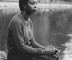 nina simone and singer image