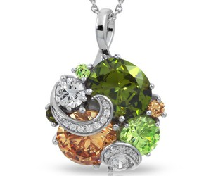 fall, fashion jewelry, and sterling silver image