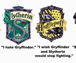 gryffindor, ravenclaw, and harry potter image