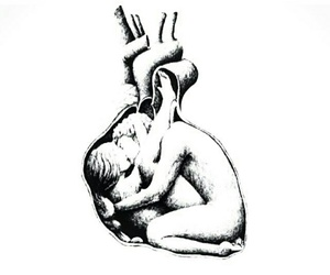 body, heart, and love image