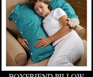 funny, forever alone, and pillow image