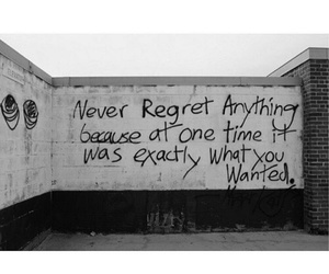 quotes, regret, and never image