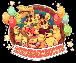 five nights at freddy's, fnaf, and five nights at freddy's 3 image