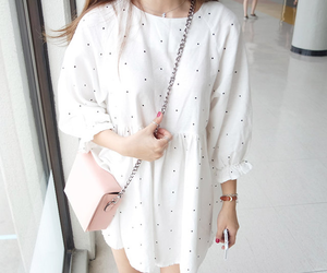 dress, bag, and clothes image