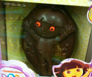 Dora, funny, and chocolate image