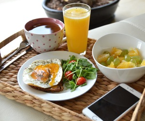 breakfast, eggs, and fit image