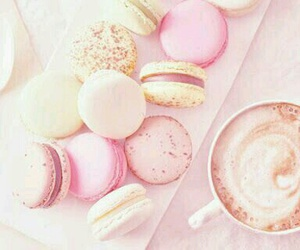 cappuccino, food, and sweet image