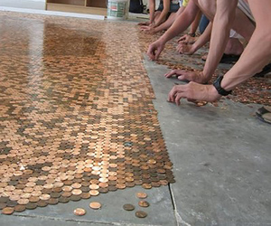 floor, penny, and home image