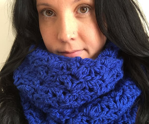 cowl, winter accessories, and gift for her image