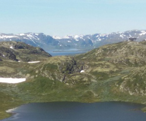 norway, berge, and landschaft image