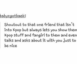 fan, kpop, and true friends image