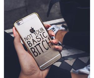 iphone, bitch, and case image