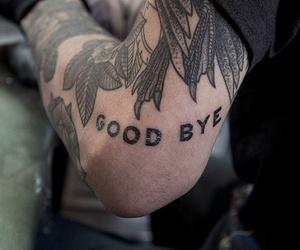 tattoo, boy, and goodbye image