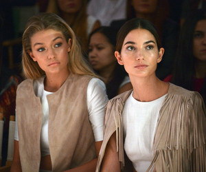 gigi hadid, model, and Lily Aldridge image
