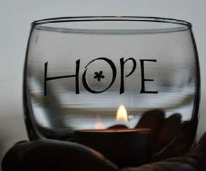 hope, candle, and light image