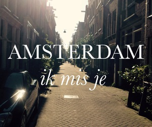 amsterdam, dutch, and holland image