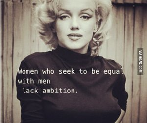 quotes, Marilyn Monroe, and woman image