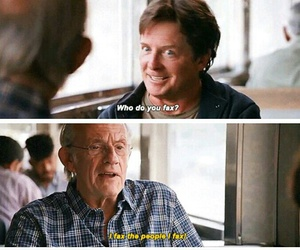 Back to the Future, doc, and funny image