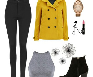 autumn, booties, and fall image