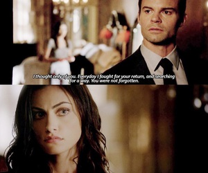 The Originals, hayley marshall, and elijah mikaelson image