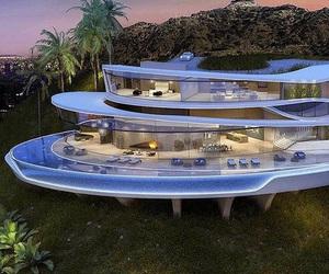 Houses, pool, and luxury image