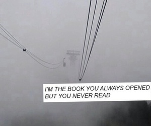 book, grunge, and quote image