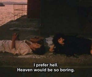 hell, heaven, and quotes image